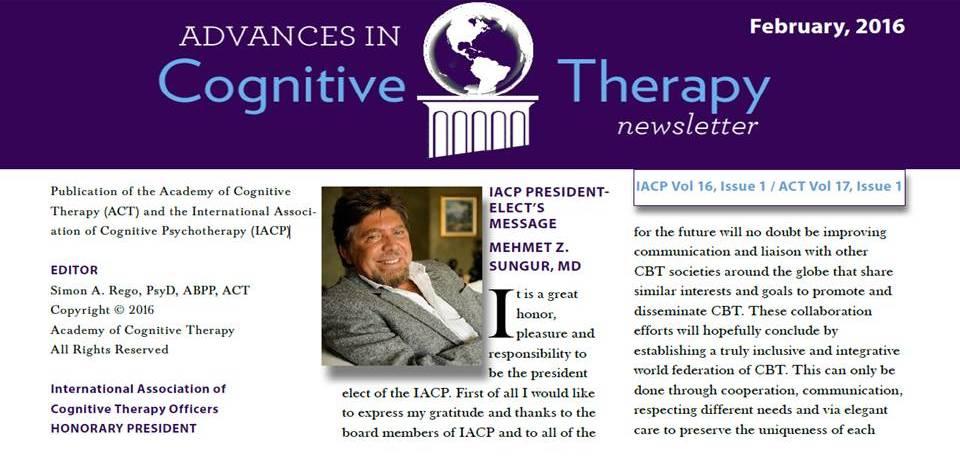 ACT ve IACP ortak bülteni dönem başkanı yazısı